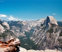 Yosemite-Glacier-Point