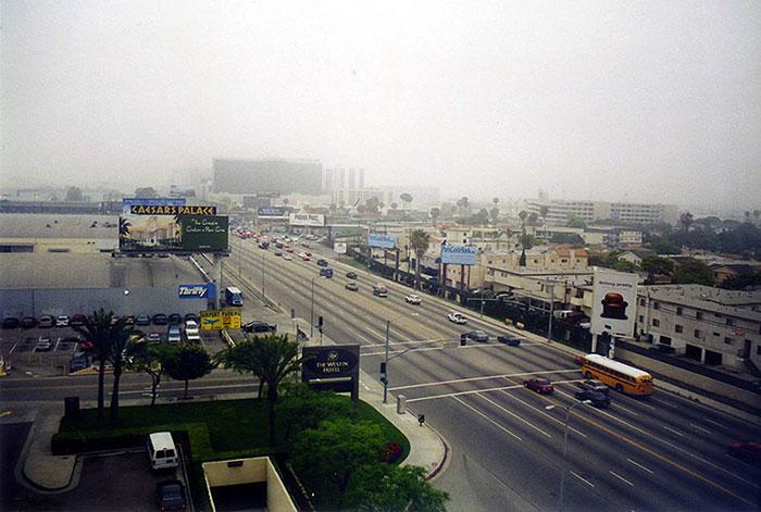 Risveglio a Los Angeles