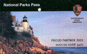 National park pass